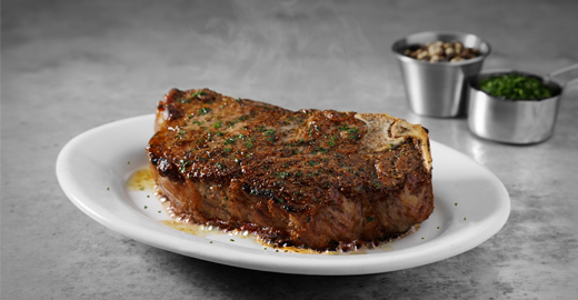 perfect new York strip steak