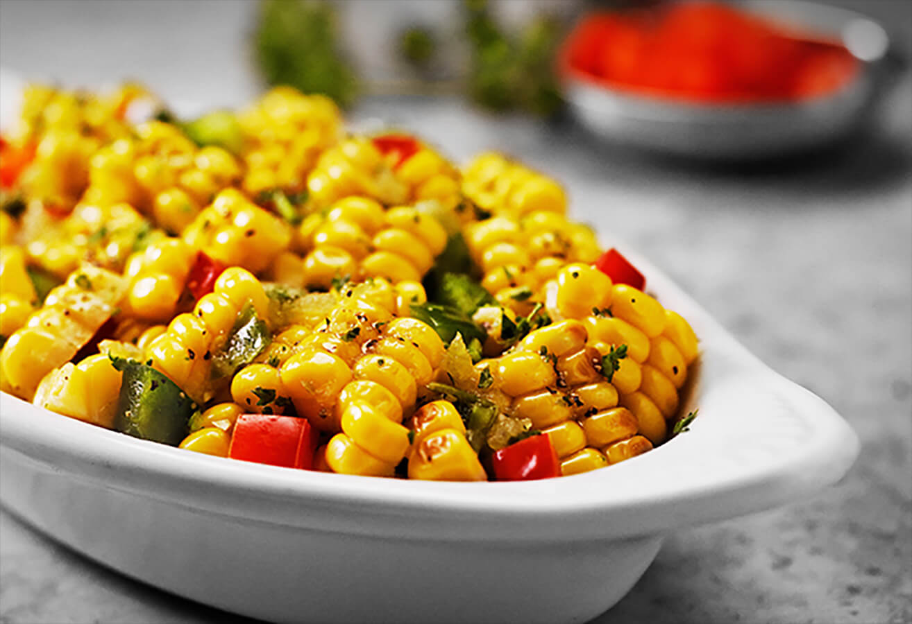 Fire-roasted Corn