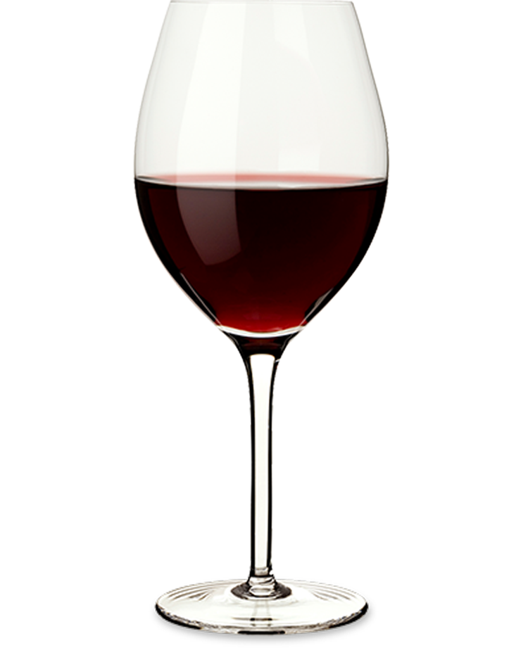 Glass of Cabernet Sauvignon